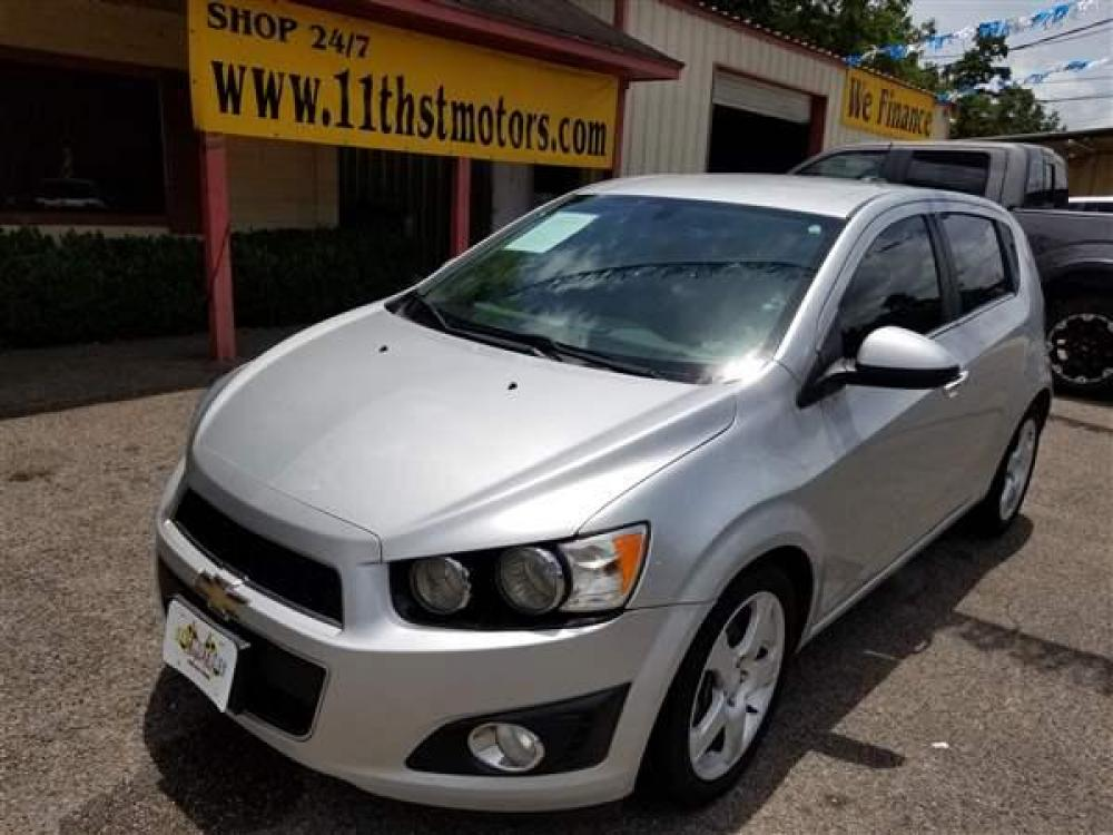 2015 SILVER CHEVROLET SONIC LTZ (1G1JE6SB8F4) with an L4, 1.4L; FFV; DOHC; VVT; TURBO engine, 6 SPEED AUTOMATIC transmission, located at 1355 North 11th Street, Beaumont, 77702, (409) 832-0006, 30.094290, -94.130096 - Photo #0