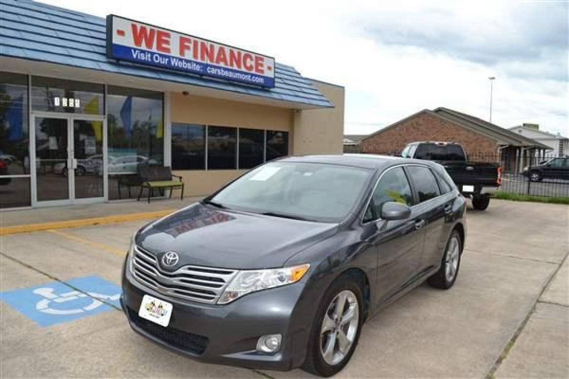 2011 GRAY TOYOTA VENZA (4T3ZK3BBXBU) with an V6, 3.5L engine, AUTOMATIC transmission, located at 1355 North 11th Street, Beaumont, 77702, (409) 832-0006, 30.094290, -94.130096 - Photo #0
