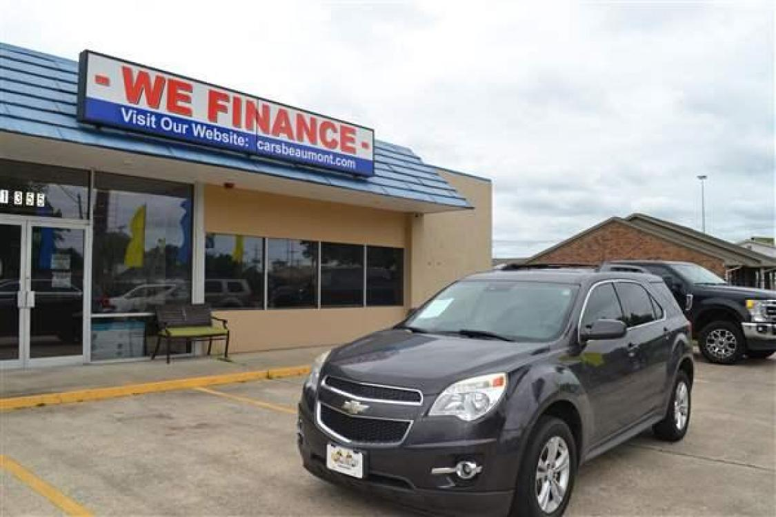 2014 GRAY CHEVROLET EQUINOX LT (2GNALCEK1E6) with an L4, 2.4L; FFV; DOHC 16V engine, AUTOMATIC transmission, located at 1355 North 11th Street, Beaumont, 77702, (409) 832-0006, 30.094290, -94.130096 - Photo #0